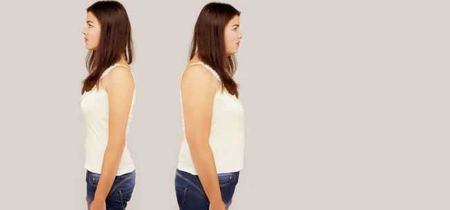 6 Hormone verantwortlich für die Gewichtszunahme bei Frauen Foto