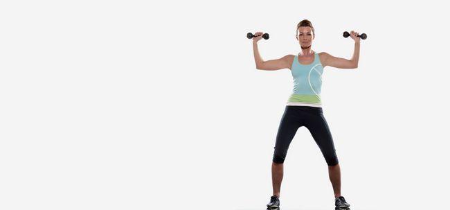 6 unglaubliche Vorteile von Kopfdrücken Übung Ihre zu stärken Oberkörper Foto