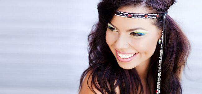 6 ultimative Boho Chic Makeup-Ideen Foto