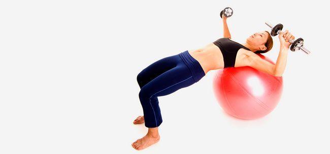 6 wunderbare Vorteile der Stabilität Chest Press Übung Ihr zu stärken Oberkörper Foto
