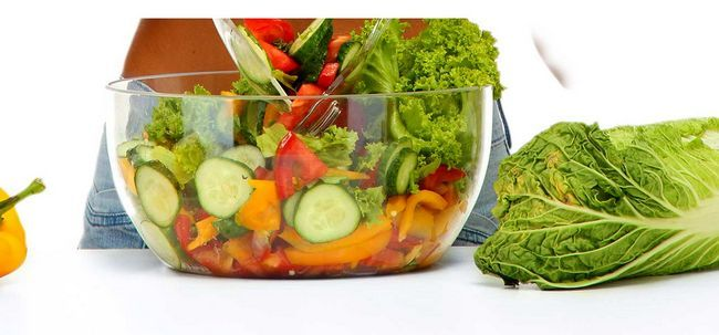 7-Tage-Gewicht-Verlust-Diät-Plan für Vegetarier Foto