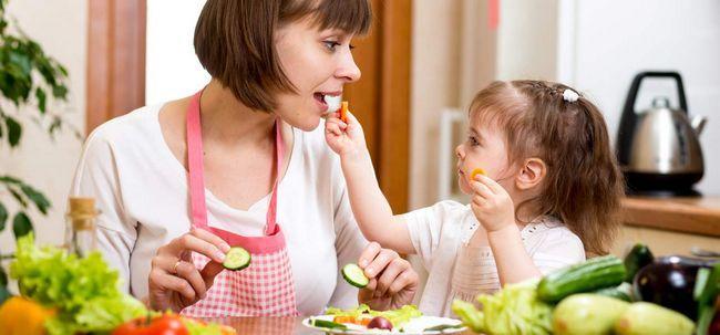 7 gesunde Essgewohnheiten Jedes Kind sollte Folgen Foto