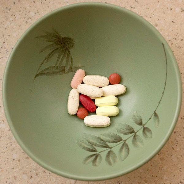 Vitamine für schwarzes Haar