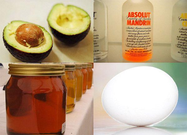 Avocado Wodka Haarmaske