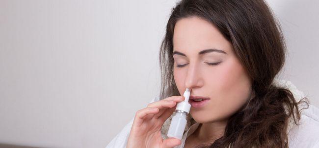 7 Arten von Nasensprays für Sinus-Behandlung Foto