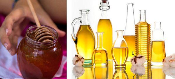Olivenöl und Honig Gesichtsmaske