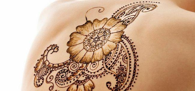 8 Die beliebtesten Mehndi Tattoo Designs Foto
