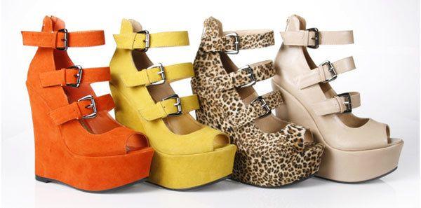 Keil-Schuhe