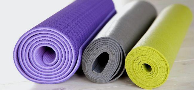 8 Arten von Yoga-Matten und ihre einzigartigen Vorteile Foto