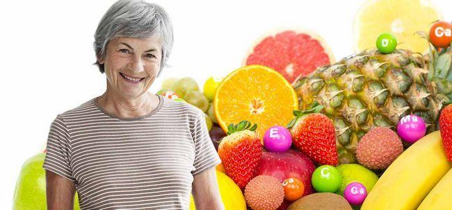 8 Vital Vitamine für Frauen über 60 Foto