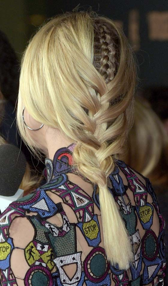 Geflochtene Fishtail Braid