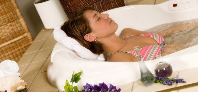 Aromatherapie für Kopfschmerzen und Migräne Foto