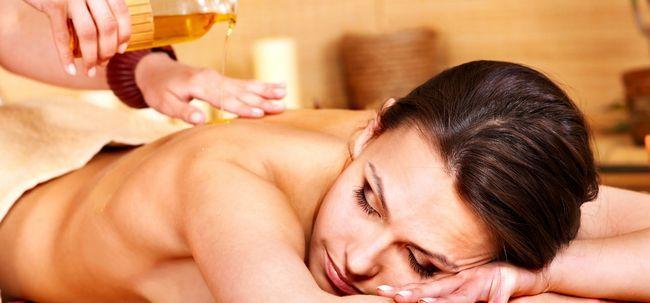 Aromatherapie für Schlaflosigkeit oder Schlafstörungen Foto