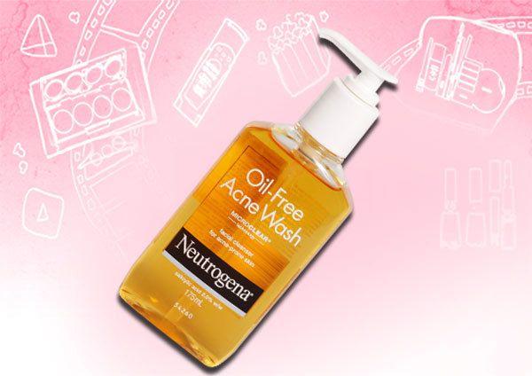 Neutrogena ölfrei Akne Gesicht zu waschen