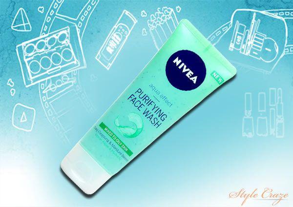 Nivea Aqua Effect Purifying Face Wash