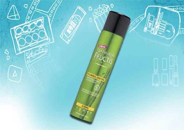 garnier fructis Stil voluminisierende gegen Feuchtigkeit hairspray