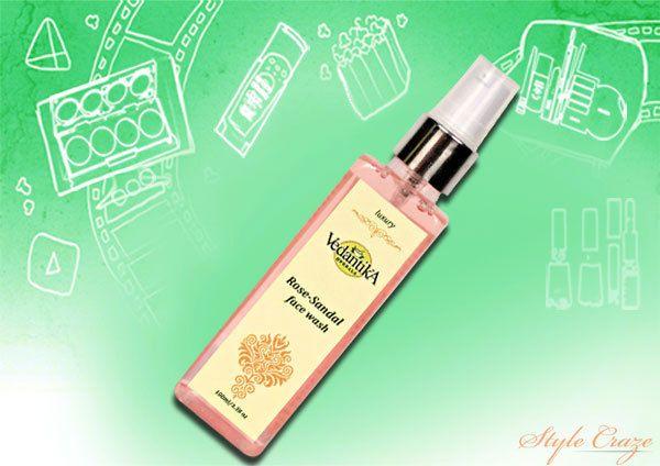 Vedantika Herbals Rose Sandale Face Wash