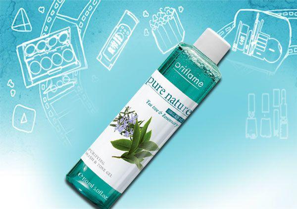 Teebaum und Rosmarin Purifying Face Wash und Tone Gel