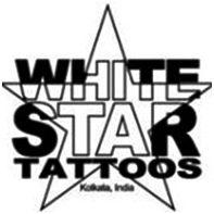 weißer Stern Tattoo-Studio kolkata