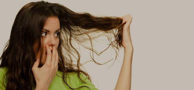 Pflege für trockenes Haar Foto