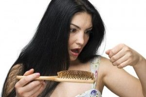 Haare fallen Probleme