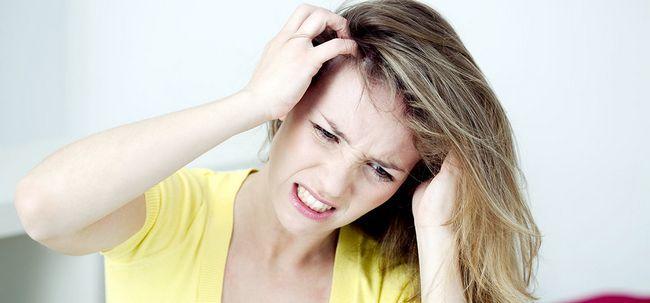 Hat juckende Kopfhaut führen zu Haarausfall? Foto