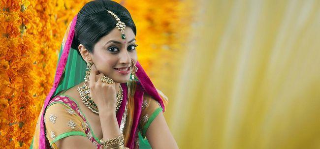 Hindu-Braut Make-up Tutorial - mit detaillierten Schritte und Bilder Foto