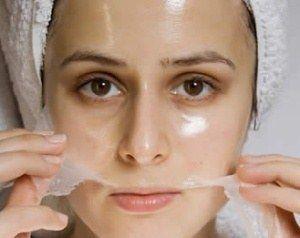 Gesichtsmaske für strahlende Haut