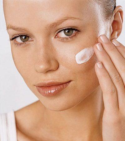 Sonnenschutz für schöne Haut Ton