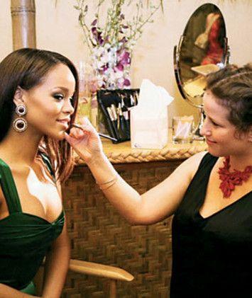 Berühmtheit professionellen Make-up