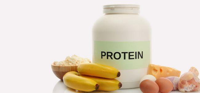 Wie funktioniert Aufnahme von Proteinen Hilfe bei der Gewichtszunahme? Foto