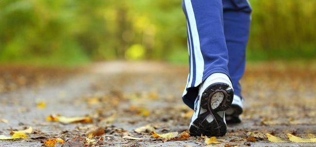 Wie funktioniert Gehen helfen, Gewicht zu verlieren? Foto