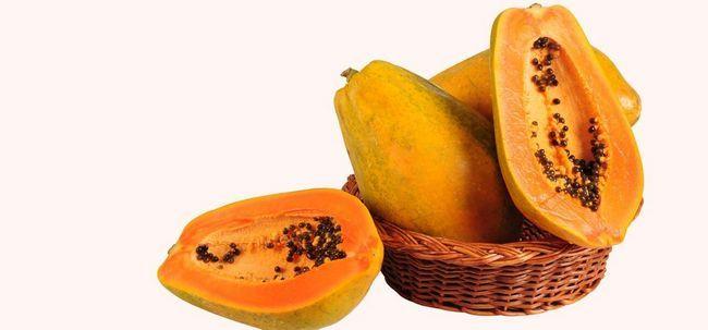 Wie ist Papaya gut für Diabetiker? Foto