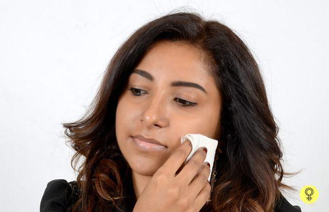 Reinigung und Ihre Haut prepping