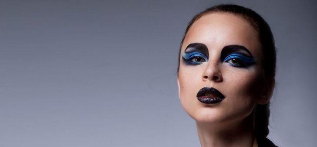 Wie Avant Garde Make-up zu tun? Foto