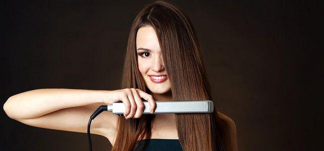 How To Do Haarglättung zu Hause? Foto
