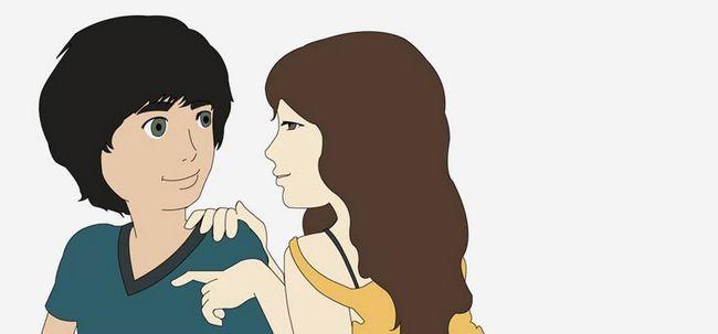 Wie man mit einem Jungen zu flirten? - Aus Sicht des Mädchen Foto