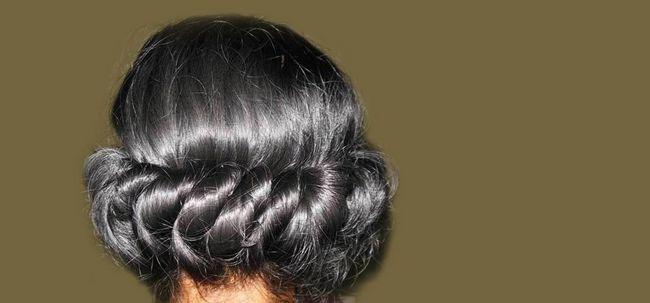 Wie lockiges Haar über Nacht zu bekommen? Foto