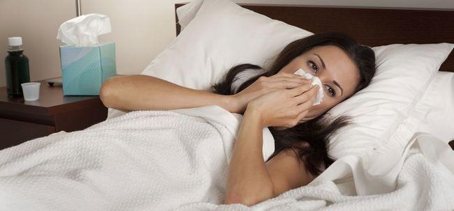 Wie wird man von einem kalten Übernachtung Rid? Foto