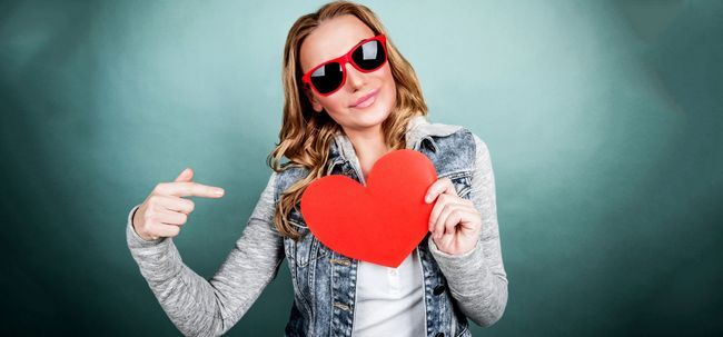 Wie durch Valentinstag Das Single Get Foto