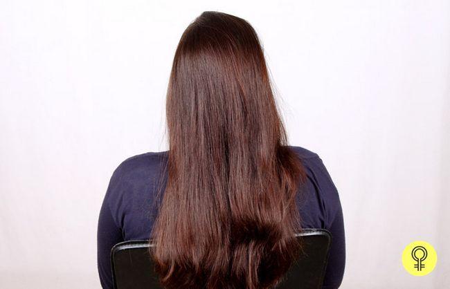 trockene oder feuchte Haar
