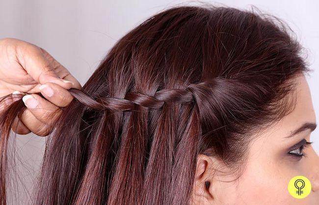 ein weiterer Abschnitt des Haares