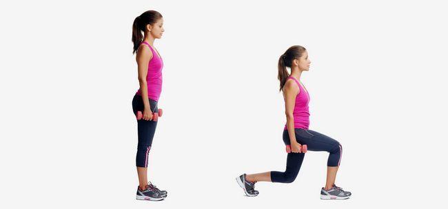 How To Perform Lunges richtig mit Schritt für Schritt Anleitung Foto