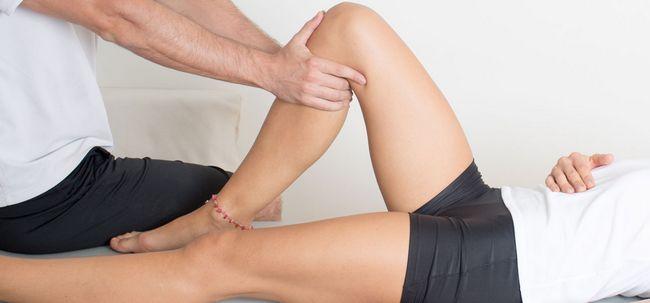 Wie zu entlasten Knieschmerzen Fußreflexzonenmassage Verwendung? Foto