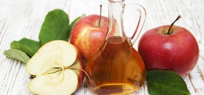 Wie Apfelessig verwenden Warzen für die Behandlung von? Foto