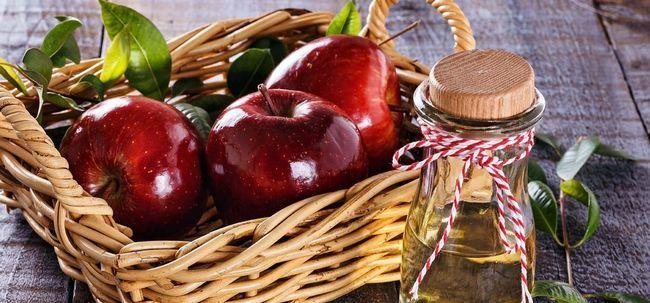 Wie Apfelessig verwenden Gout zu behandeln? Foto