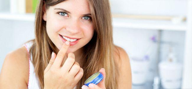 So verwenden Kokosöl als Lippenbalsam? Foto