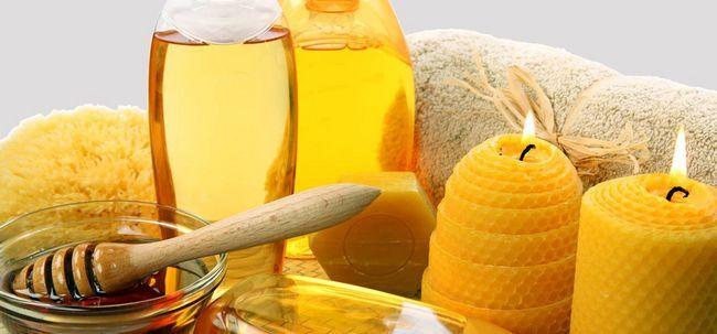 Wie Olivenöl & Honey Verwenden schöne Haut zu bekommen? Foto