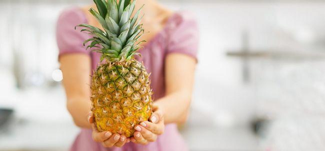 Ist Ananas ein wirksames Mittel gegen Verstopfung? Foto
