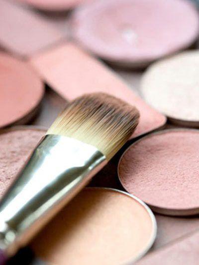 rosa Haut erröten Untertönen